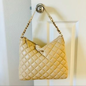 Kate Spade Gold Coast Leather Quilted Hobo